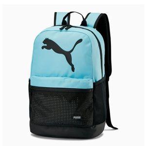Puma Generator 2.0 backpack black light blue